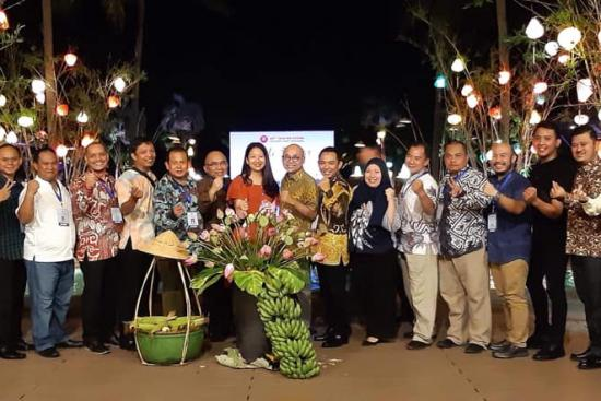 Hình ảnh Đoàn GV, HSSV trường Cao đẳng GTVT TW V phục vụ tổ chức Hội nghị Quan chức cấp cao Giao thông vận tải ASEAN lần thứ 47 (STOM 47)