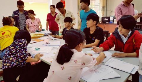 Hân hoan Chào đón Tân học sinh sinh viên khóa 2019 trường Cao đẳng GTVT Trung ương V nhập học