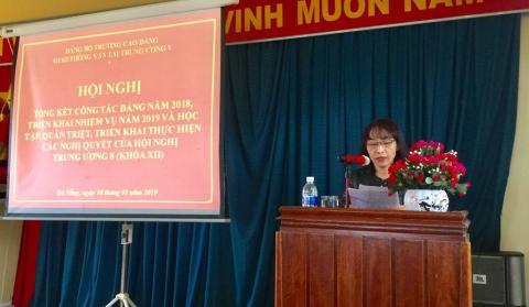 Hội nghị học tập, quán triệt và triển khai thực hiện Nghị quyết Hội nghị lần thứ tám Ban chấp hành Trung ương Đảng khóa XII