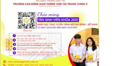 NHẬP HỌC BỔ SUNG KHOÁ TUYỂN SINH NĂM 2021