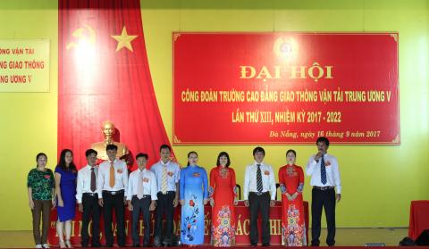 Phân công nhiệm vụ các thành viên BCH Công đoàn trường Cao đẳng GTVT TW V nhiệm kỳ 2017-2022