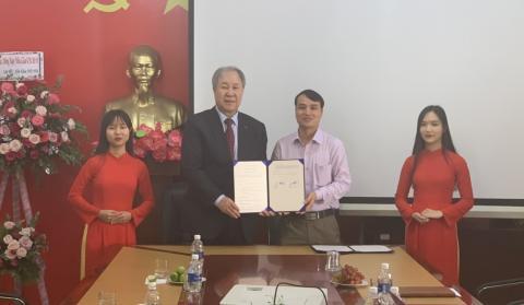 Trường Cao đẳng Giao thông vận tải Trung ương V ký kết biên bản ghi nhớ hợp tác MOU với Trường Đại học JeonJu Hàn Quốc