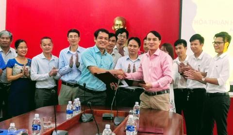 Trường Cao đẳng GTVT TW V và Công ty CP Đầu tư Đường Việt ký kết thỏa thuận hợp tác giai đoạn 2019-2025