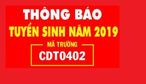 Thông báo tuyển sinh năm 2019 (Đợt 3)