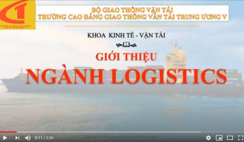 Giới thiệu ngành, nghề Logistics